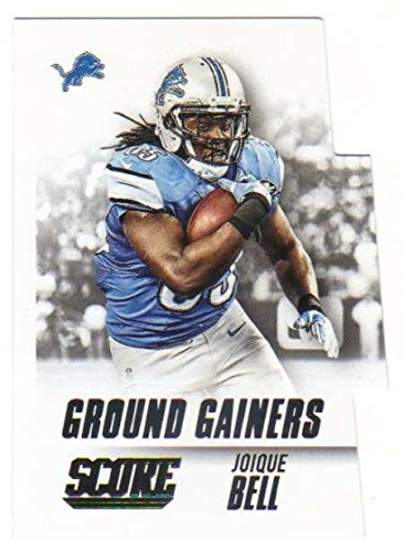 2015 Panini Score Ground Gainers #10 Joique Bell Lions Football Card NM-MT