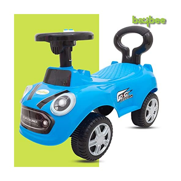 Baybee Cooper Kids Ride On Push Car Toy for Babies-Kids Ride on Toys-Kids Ride On for Children Kids Toy Car Baby Toys 1-3 Years-Twist, Turn, Wiggle for Babies Endless Fun-Kids for Boys & Girls (Blue)