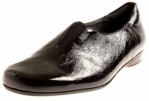 Intérieure 55402 M En Semelle Pour M Theresia Verni Chaussures sandales Femmes Noir Cuir zBUwx5Pq