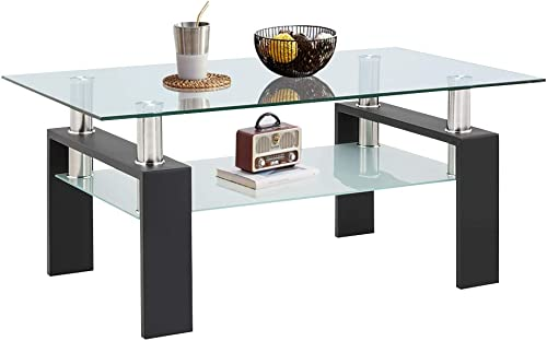 Goujxcy Modern Coffee Accent Table