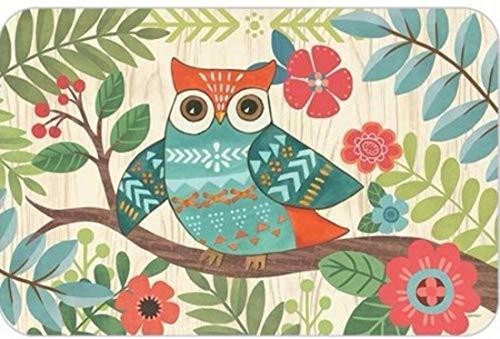 Woodland Owl Reversible Vinyl Placemats - Set of 4 ()