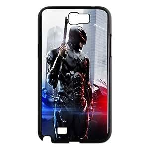 Samsung Galaxy N2 7100 Cell Phone Case Black Robocop 2014 Poster JNR2195377