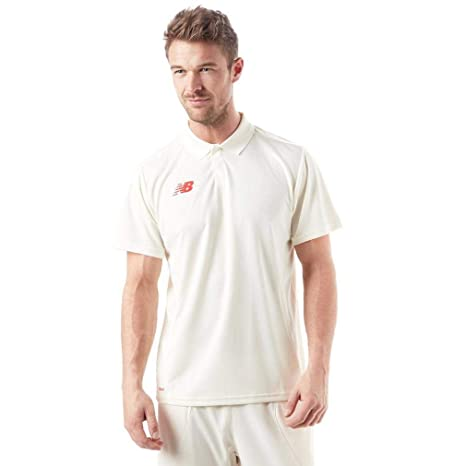 New Balance Polo Mens, Blanco, L: Amazon.es: Deportes y aire libre