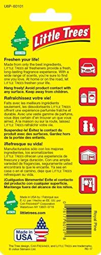 076171101013 - Car Freshener 50101 Little Tree Air Freshener-Royal Pine carousel main 2