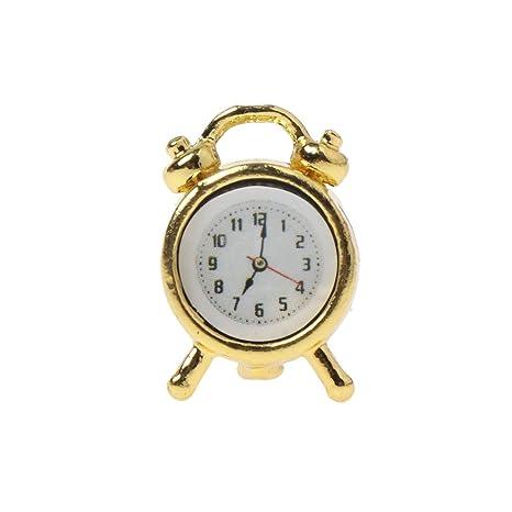 Amazon.com: EA-STONE - Reloj despertador para casa, casa de ...