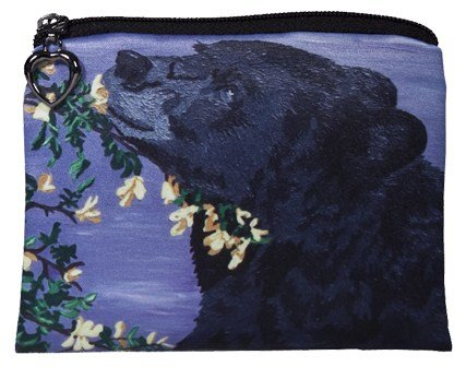 Vegan Change Purse, Coin Purse - Animals - From My Original Paintings - Support Wildlife Conservation, Read How