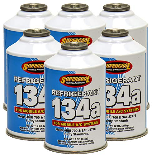 ZeroR R-134a Refrigerant - 6 Cans - Made in USA - 12oz Cans