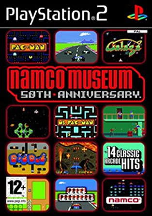 Namco Museum 50th Anniversary (PS2): Namco Museum: Amazon co