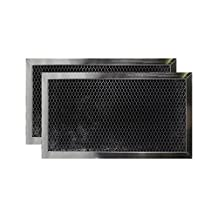 2 PACK DE63-30016A Samsung MIcrowave Oven Charcoal Carbon Filter Replacements by Air Filter Factory