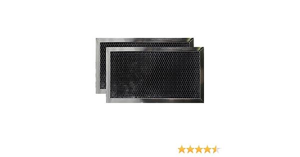 1 Genuine Microwave Charcoal Filter WHIRLPOOL UMV2186AAB14 UMV2186AAS14-4x8.75