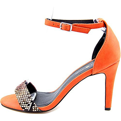 Seven Dials Wickford - Sandalias de vestir de Material Sintético para mujer naranja coral