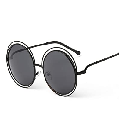DIYOO Adultos Retro Gafas de Sol Redondas Estilo John Lennon ...