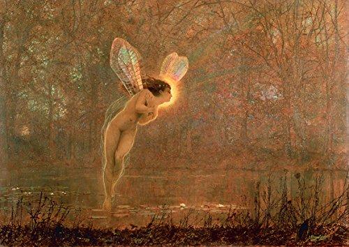 John Atkinson Grimshaw: Iris. Fine Art Print/Poster. Size A2 (59.4cm x 42cm)