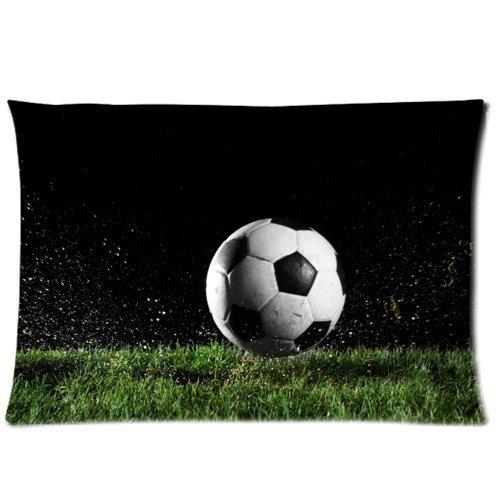 Cool balón de fútbol arte almohada Funda de cojín Throw fundas de ...