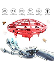 $25 » Ehihas Hand Operated Drone, Flying Toys for Kids Mini UFO Drone with 2 Speed, Great Flying Drone Gift for Boys/Girls, Flying Ball Drone Easy Indoor Outdoor Toys