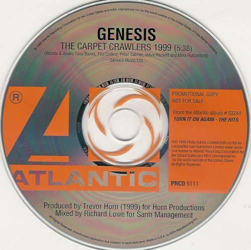 Peter Gabriel Phil Collins Steve Ett Tony Banks Mike Rutherford Genesis Trevor Horn The Carpet Crawlers