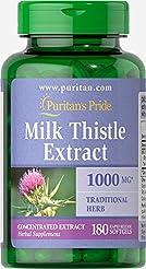 Puritans Pride Milk Thistle 4:1 Extract ...