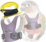 EZ Greencheek / Small Conure Harness & 6ft Leash