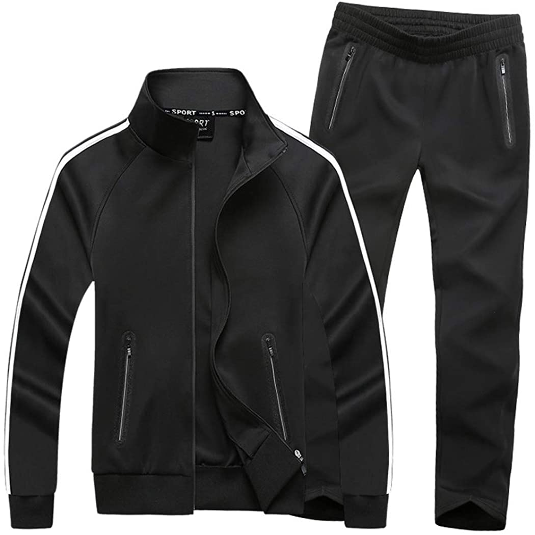 Womens Sports Suit Jogging Tracksuit Hooded Jacket Fitness Gym Pants Lounge Wear