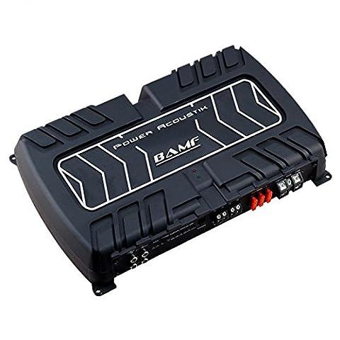 Power Acoustik BAMF1-5000D 2000W Class D Monoblock Amplifier (Amplifier Monoblock 5000 Watts)