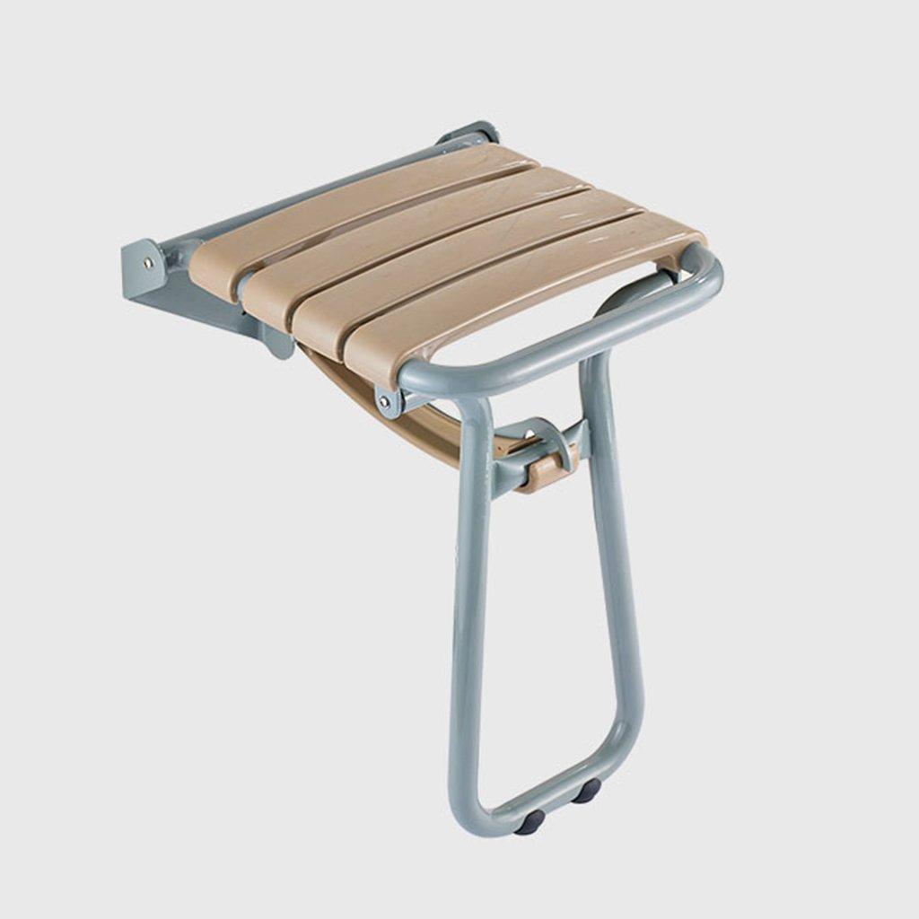 TH シャワーチェア 高齢者バリアフリー折りたたみ式脚(トイレ便座付き) 風呂椅子 B07BW9VPNX