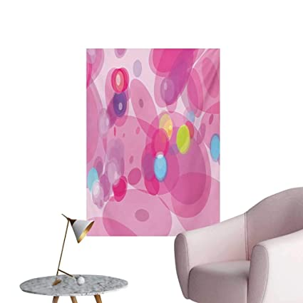 Amazoncom Anzhutwelve Pink Photographic Wallpaper Abstract