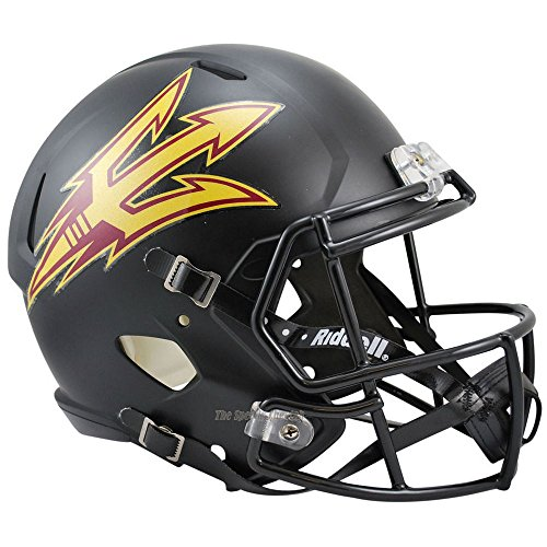 Arizona State ASU Sun Devils Officially Licensed NCAA Speed Full Size Replica Football Helmet by Riddell