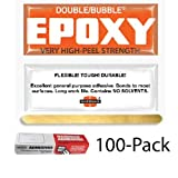Hardman Double Bubble Orange Toughened Epoxy (High Peel Strength) 100 Packs (#04007)