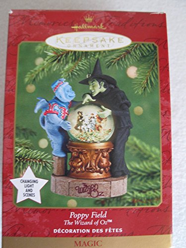 2001 Hallmark The Wizard Of Oz~ Poppy Field~ Featuring the Wicked Witch of the West and her Flying Monkey -