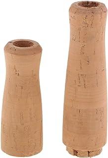 Baoblaze 1 Kit Poignée de Tige de Coulée pour la Réparation de Canne à Pêche Bricolage