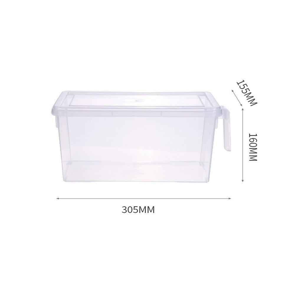 Gotian - Recipiente de cocina para frigorífico o nevera, cesta de almacenamiento, organizador de frutas, utensilios de cocina: Amazon.es: Hogar