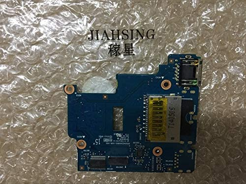 ShineBear for HP ProBook 650 g1 Series Card Reader LAN Ethernet USB Port Board Connector 6050A2566801 Cable Length: Other