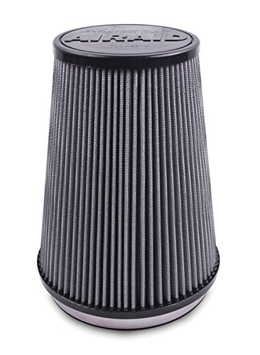 Airaid 700-470TD Racing Air Filter: Round Tapered; 4 in (102 mm) Flange ID; 9 in (229 mm) Height; 6 in (152 mm) Base; 4.625 in (117 mm) Top