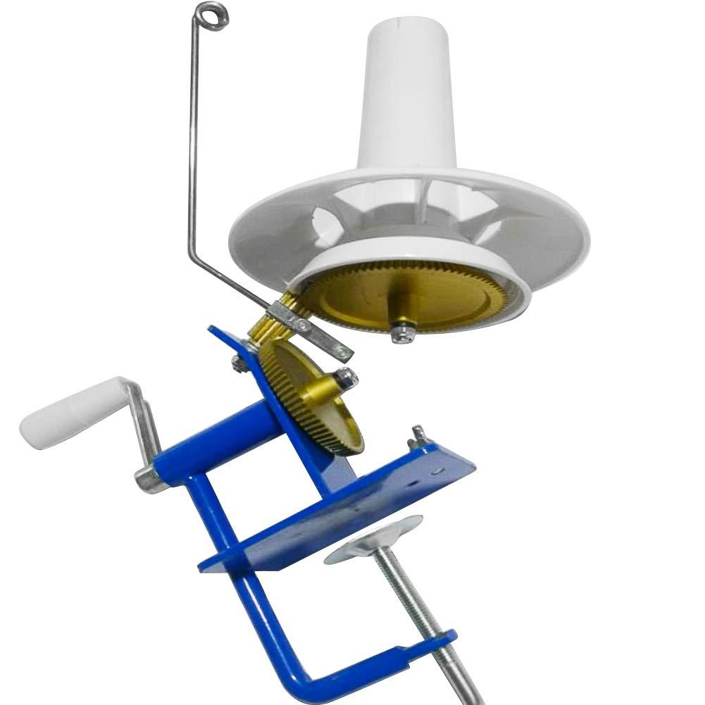 BoMiVa - Hand-Operated Yarn Ball Winder Hand Operated Rotating Wool Yarn Ball Iron Winding Machine Winder In Box Size