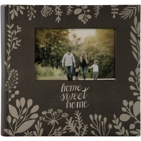 2UP Sweet Home Framed Front Photo Album