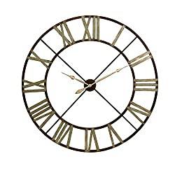 Home Decorators Collection Edward 48 H x 48 W Round Wall Clock