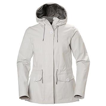 Helly Hansen W Elements Jacket - Chaqueta Impermeable, Mujer, Gris(823 Nimbus Cloud): Amazon.es: Deportes y aire libre