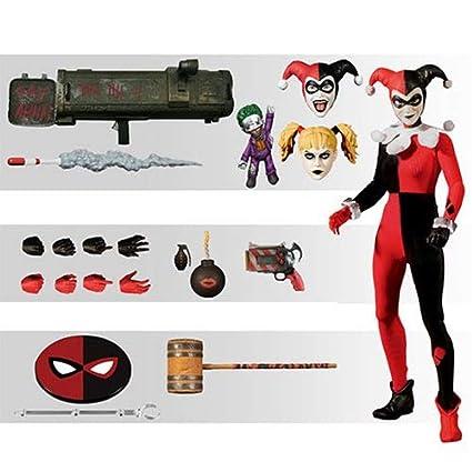 Amazon.com: Mezco DC Suicide Squad Harley Quinn Deluxe ...