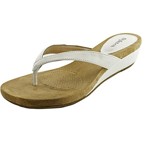 style and co white wedges - 1