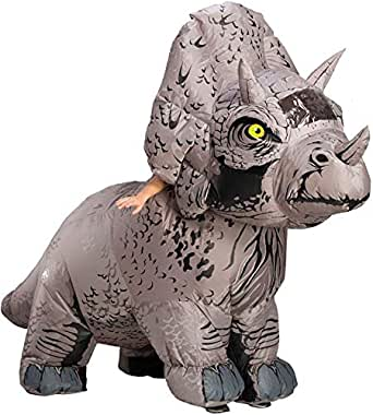 Rubie's Unisex-Adults Triceratops Inflatable Costume - Multi - Standard