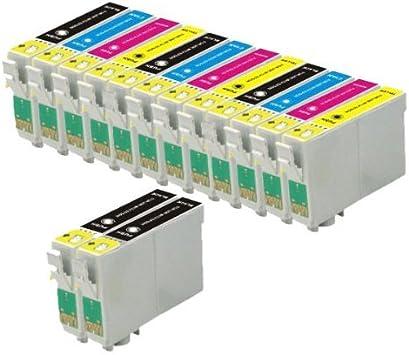 KIT 10 CARTUCCE COMPATIBILI PER STAMPANTE EPSON STYLUS SX125 SX 125