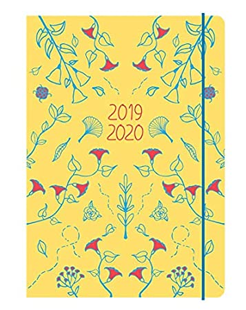 Collins Blossom 2019-2020 Agenda A5 A5 Yellow