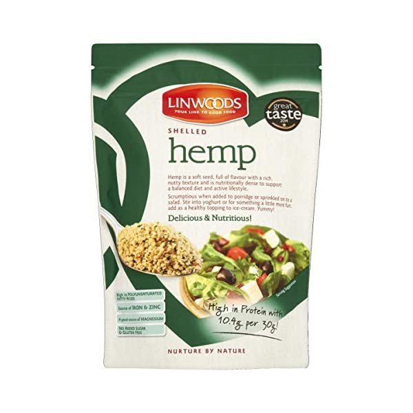 Linwoods Shelled Hemp 200 grams (Pack of 1)