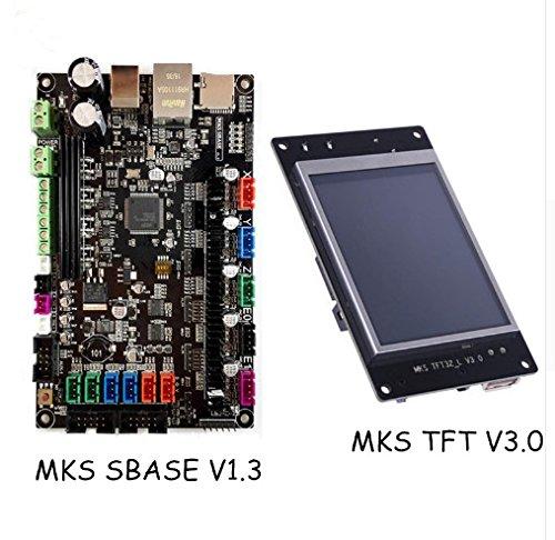 3D Drucker Teile MKS SBASE V1.3 Smart Controller Smoothieboard + MKS TFT32 V3.0 Display Kompatibel Smoothieware