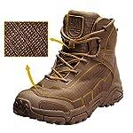 FREE SOLDIER pour Homme Mid Haute durabilité Lacets Bottes Durable Imperméable Armée Combat Chaussures Respirant… 7