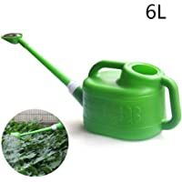 Watering Can Long Spout,6L Dual-Use Long Watering Can with Removable Spout is More Convenient Green