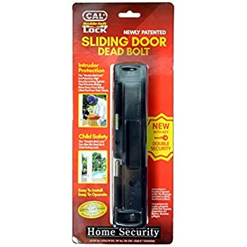 Amazon.com: CAL Lock Smart Bolt Lock Sliding Door Latch ...
