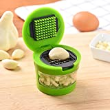 Buycrafty Press Garlic Slicer Presser Chopper Grinder Kitchen Tool Garlic Press Crusher