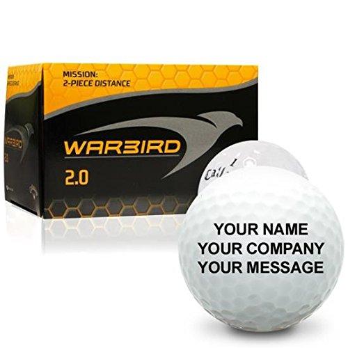Callaway Golf Warbird 2.0 Personalized Golf Balls Custom Golf Balls
