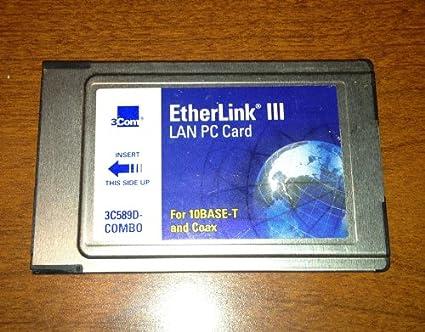 3COM ETHERLINK III LAN PC CARD 3C589D WINDOWS 8 X64 DRIVER
